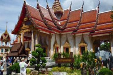 Храм Ват Чалонг на Пхукете - фото время работы как добраться