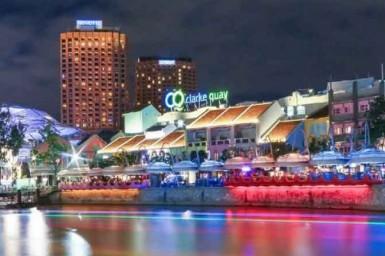 Ночная жизнь Сингапура: Clarke Quay - куда сходить, что посмотреть, фото, видео